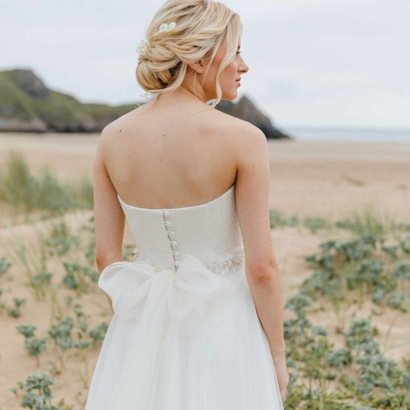 bridal hair style ideas gower swansea